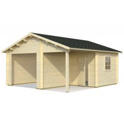 Garaje Roger 21,9+5,2 m² sin puerta cochera