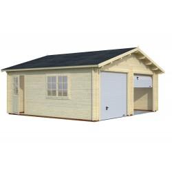 Garaje Roger 28,4 m² con puerta seccional