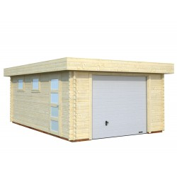 Garaje Rasmus 19,0 m² con puerta seccional