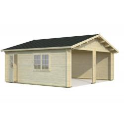 Garaje Roger 28,4 m² sin puerta cochera