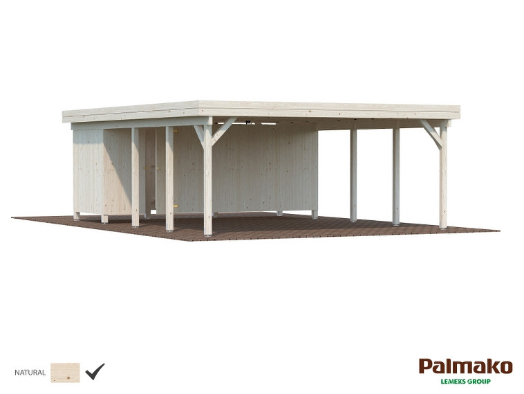 Carport Karl 40,6 m²