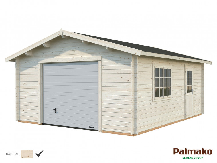 Garaje Roger 23,9 m² con puerta seccional