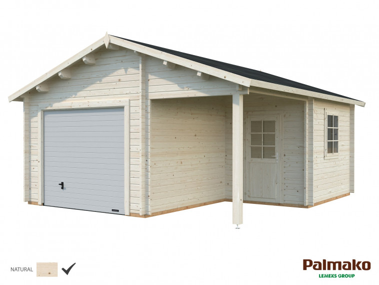 Garaje Roger 21,9+5,2 m² con puerta seccional