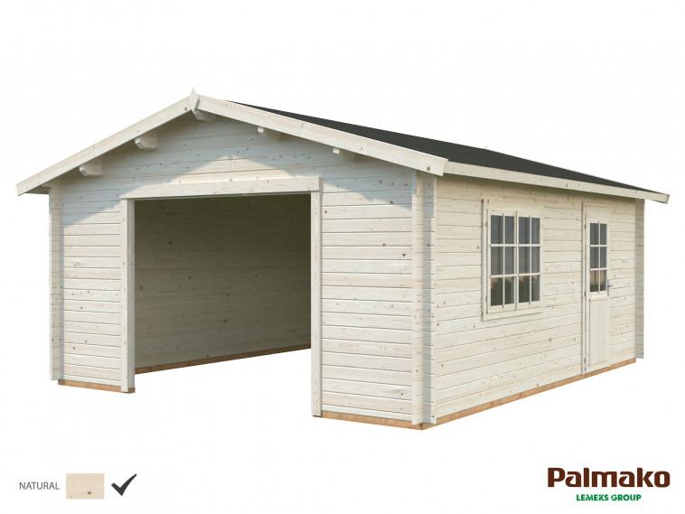 Garaje Roger 27,7 m² sin puerta cochera