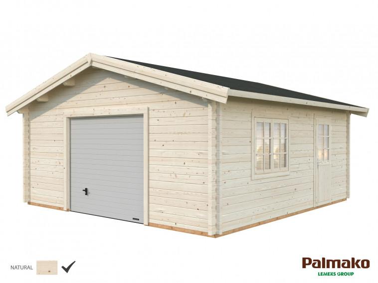 Garaje Roger 27,7 m² con puerta seccional