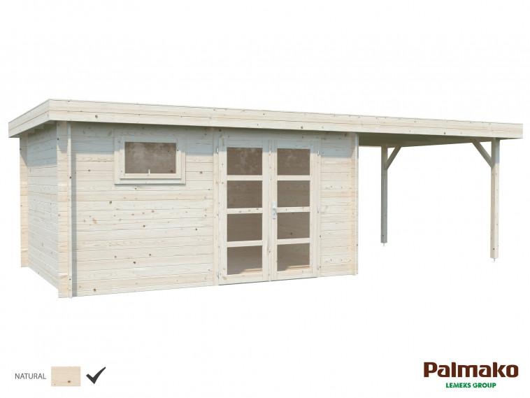 Cabaña de Madera Elsa 11,3 m² + 8,1 m²