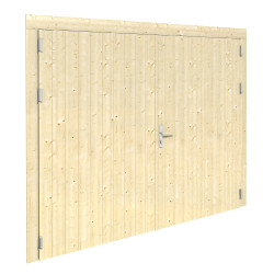 Puerta adicional garaje