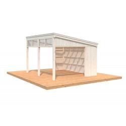 Pabellón de Madera Nova 13,0m² (Kit)