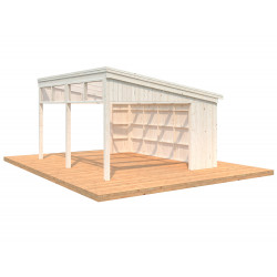 Pabellón de Madera Nova 17,8m² (Kit)