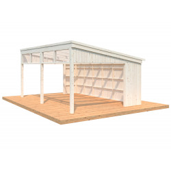 Pabellón de Madera Nova 21,5m² (Kit)
