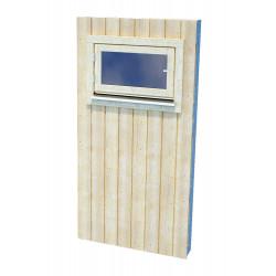 Panel Nórdico con ventana corta