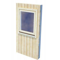 Panel Nórdico con ventana mediana