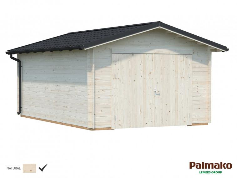 Garaje Tomas 19,2 m² · Con puerta cochera