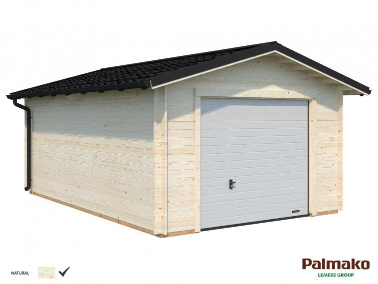 Garaje Tomas 19,2 m² · Con puerta seccional