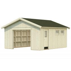 Garaje Nordic Andre 21,5 m² · Sin puerta cochera