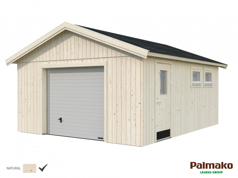 Garaje Nordic Andre 21,5 m² · Con puerta seccional