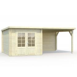 Cabaña 6,9+8,2 m²